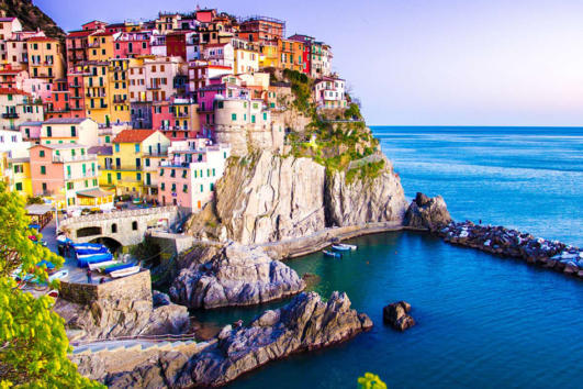 Cinque Terre Liguria Day Tour with Mini Cruise
