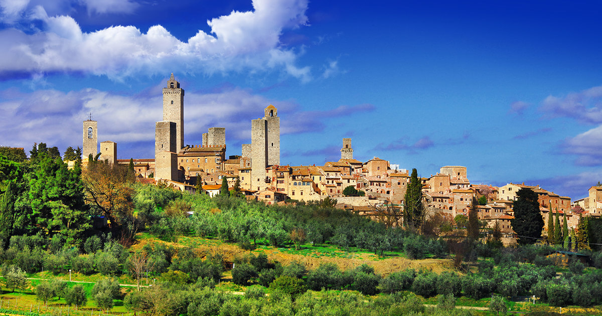 San Gimignano and Siena Excursions