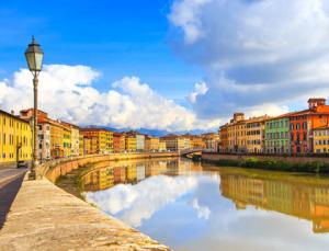 Lungarni of Pisa