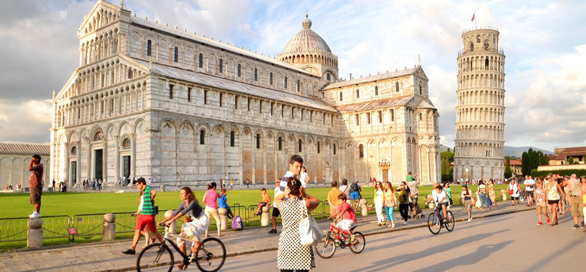 Walking Pisa