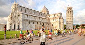 Walking Pisa