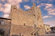 Castle of Castellina in Chianti, Siena, Tuscany, Italy