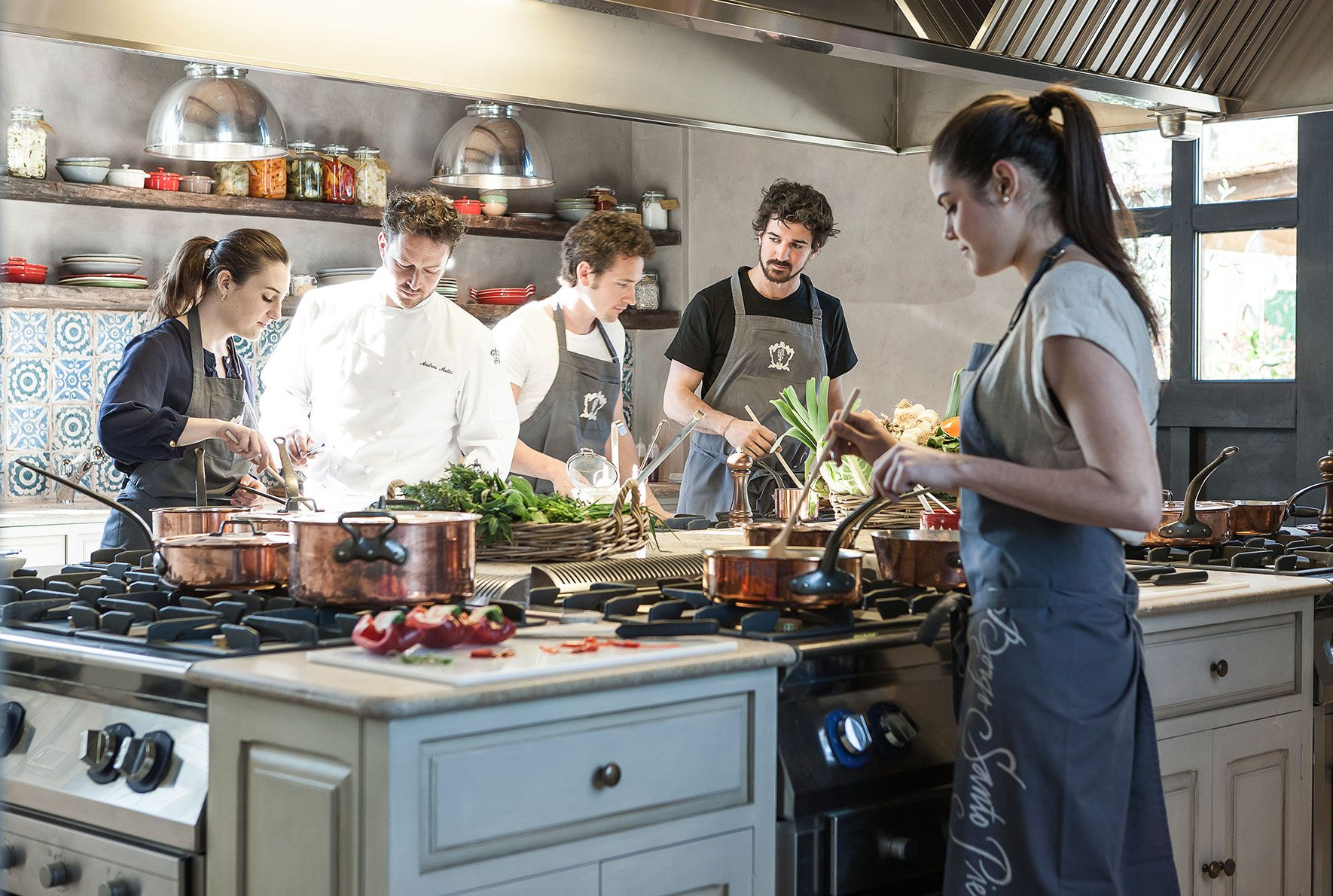 cooking class in tuscany from lucca
