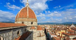 The Duomo of Florence in Tuscany, Italy