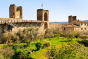 Monteriggioni near Siena