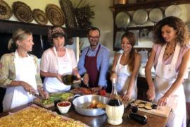 Cooking class farmhouse tuscany