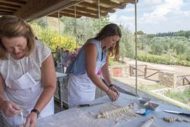 cooking class from lucca's farmhouse