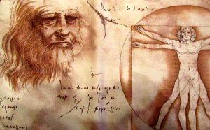 Leonardo Da Vinci Vitruvian Man