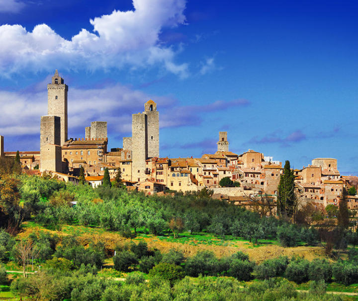 San Gimignano and Siena tour from Pisa