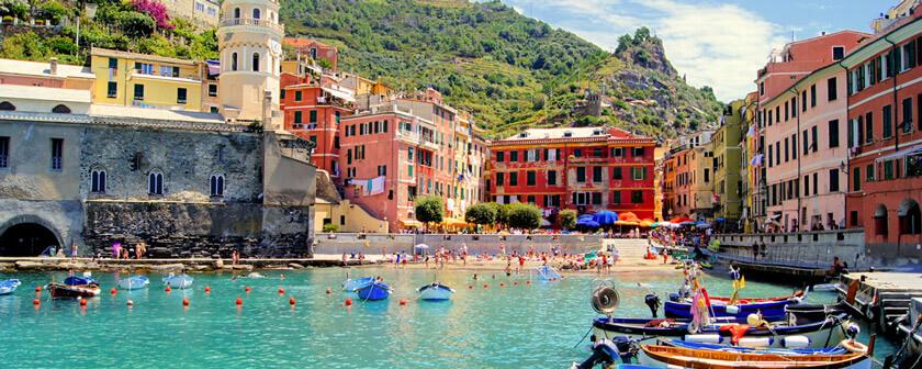 Shore Excrusions from Livorno to Cinque Terre