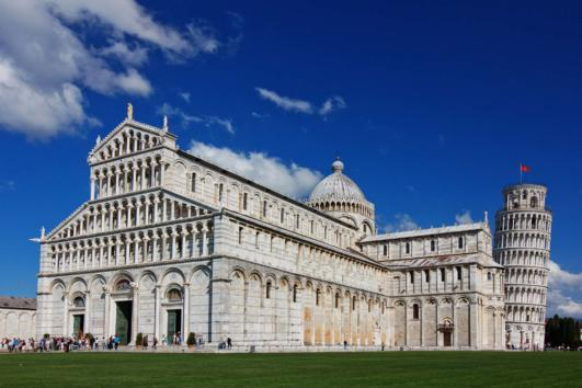 Miracle Square in Pisa
