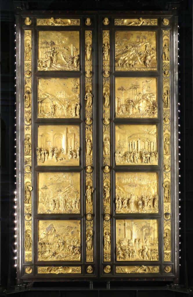 La Porta del Paradiso di Ghiberti