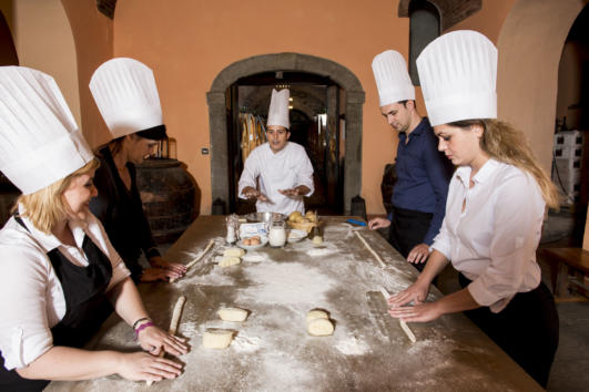 chef at home in Pisa