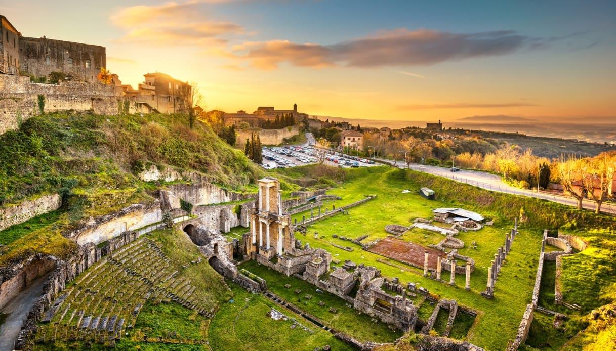 Teatro Romano in Volterra