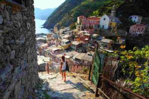 walking hike tour cinque terre