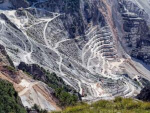 View of Carrara Marble from Bellaitaliatour