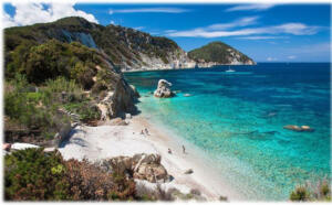 elba island tour by private motor boat