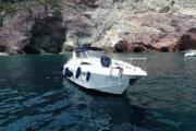 portovenere by motor boat